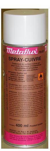 70 57 spray cuivre rev tements m talliques et - Bombe peinture cuivre ...